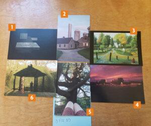 VCCA postcards