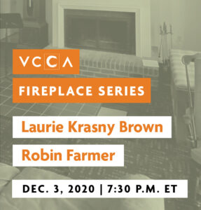 Laurie Krasny Brown and Robin Farmer, December 3, 2020