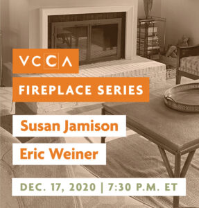 Susan Jamison and Eric Weiner, Dec. 17, 2020, 7:30 p.m. ET