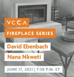 David Ebenbach and Nana Nkweti, June 17, 2021, 7:30 p.m. ET